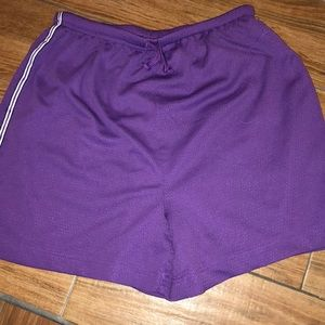 Pants - The Body Co. purple shorts